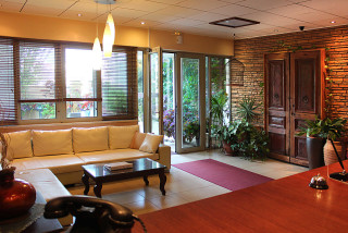 facilities philoxenia hotel reception area