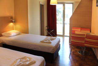 family studio philoxenia hotel bedroom