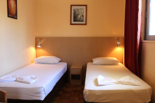 family studio philoxenia hotel single beds