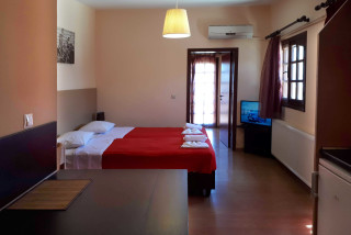 roof apartment philoxenia hotel room