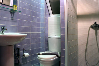 standard studio for disabled philoxenia hotel bathroom interior